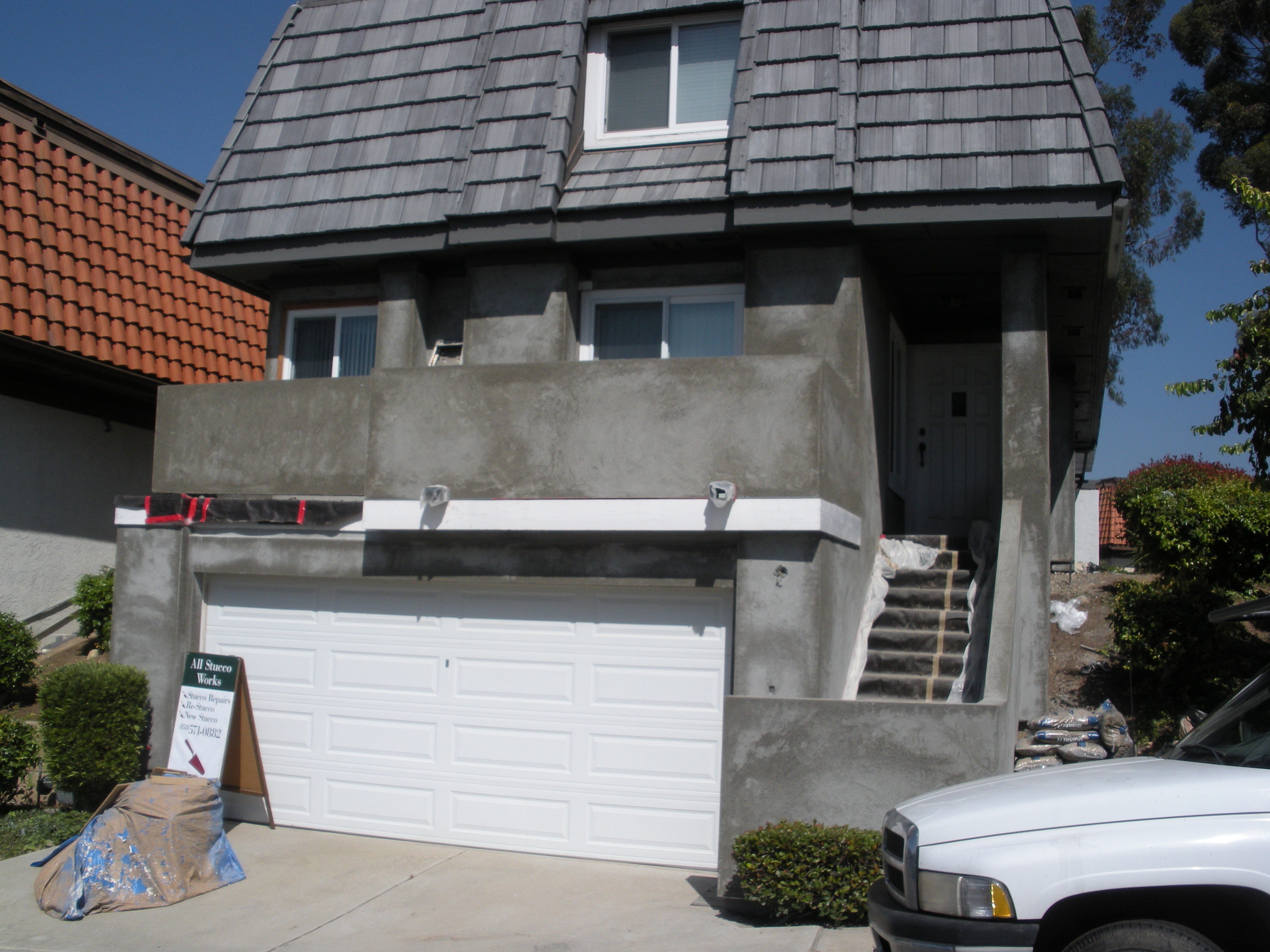 Replaced Aging Wood Siding With New Stucco Superior