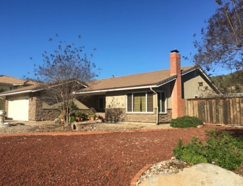 Restucco and Stone Veneer in Rancho Bernando