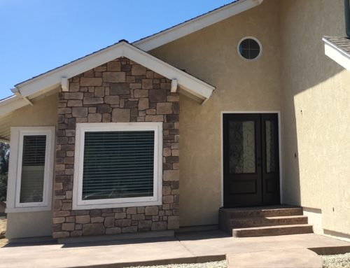 Restucco and Stone in Rancho Penasquitos