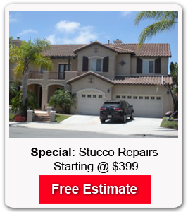stucco services in San Diego starting @ $399 special
