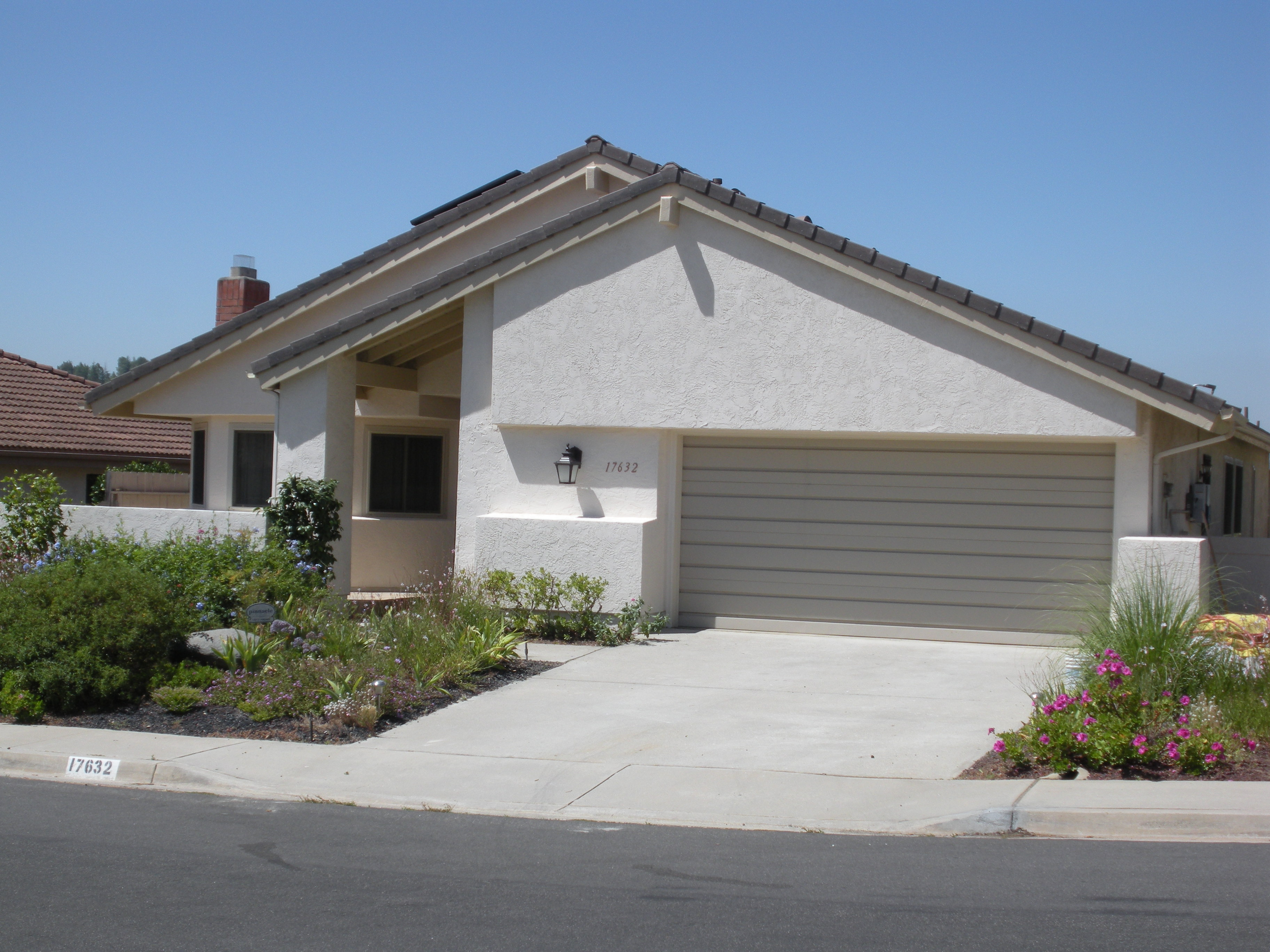 Replaced Wood Siding With New Stucco In Rancho Bernardo